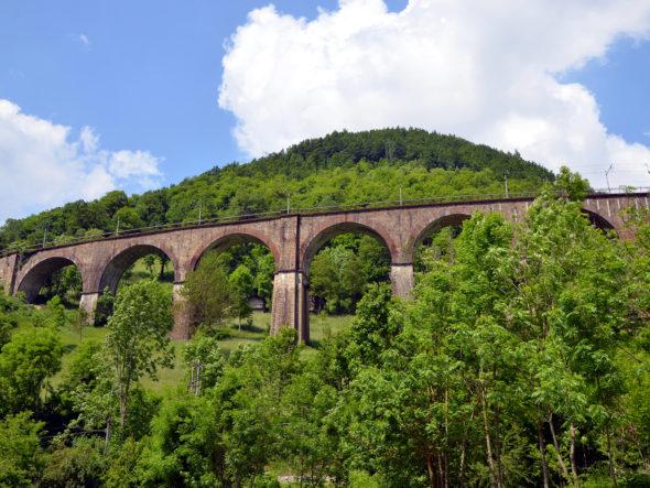 Ferrovia Cuneo-Limone-Ventimiglia e la galleria elicoidale di Vernante