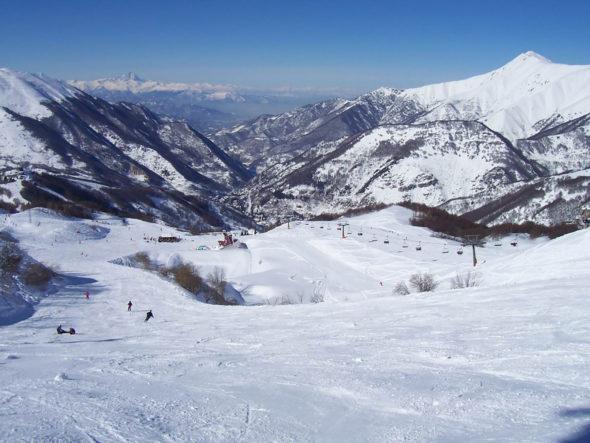 Riserva Bianca et station de ski