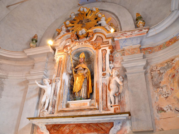 Chapelle des Pénitents noirs, dite de la Miséricorde, dédiée à Saint-Claude