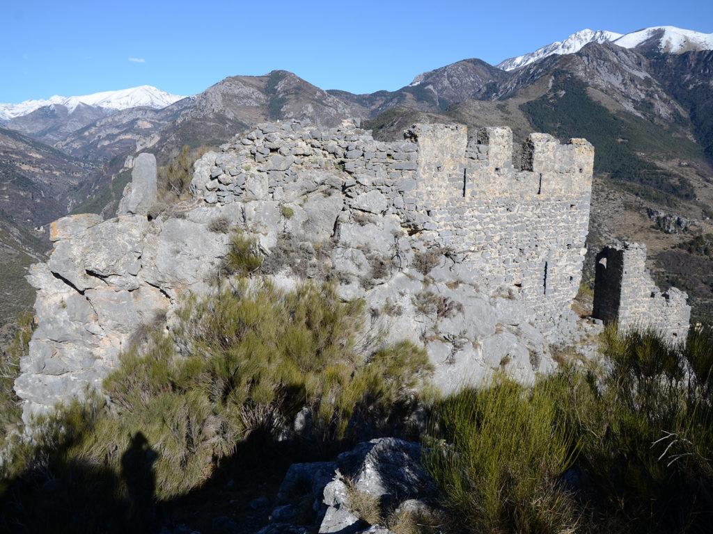 Vestiges du château de Malmort