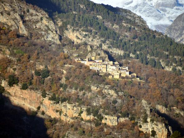 Route et hameaux de Berghe