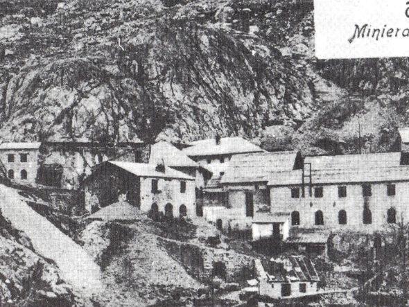 Galeries et hameau de la Minière de Vallauria