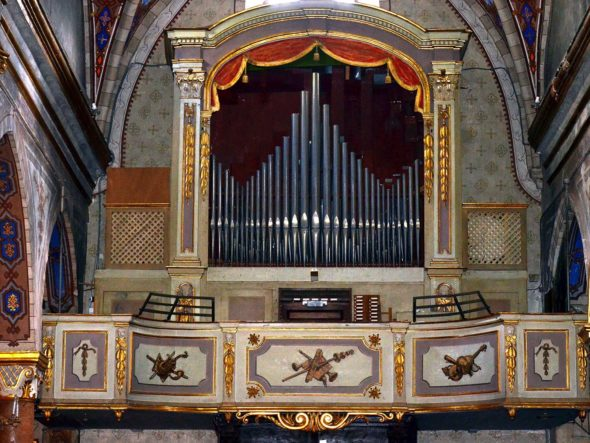 Orgue de la collégiale Saint-Martin
