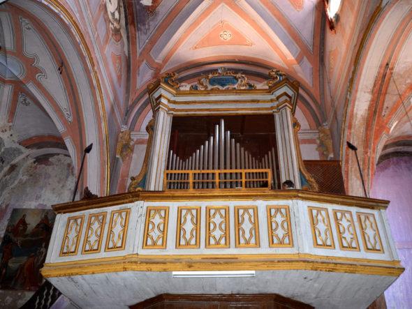 Orgue Lingiardi de l'église Saint-Sauveur