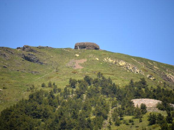 Ouvrages militaires du Vallo Alpino, à Tende et La Brigue