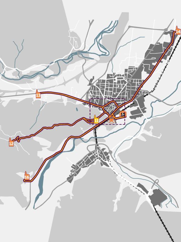 Itinéraire Borgo san Dalmazzo